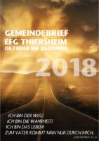 Gemeindebrief 4. Quartal 2018