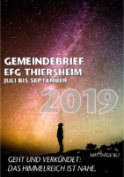 Gemeindebrief 3. Quartal 2019