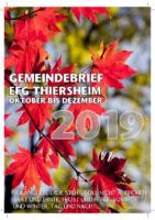 Gemeindebrief 4. Quartal 2019