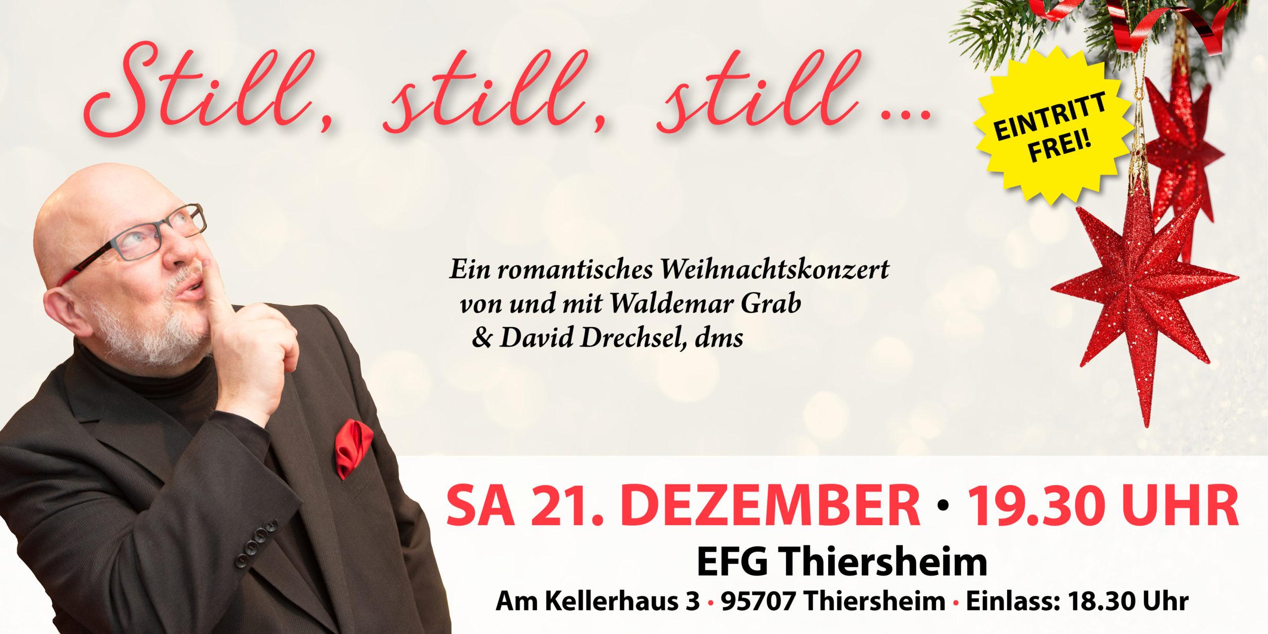 Weihnachtskonzert mit Waldemar Grab 2019